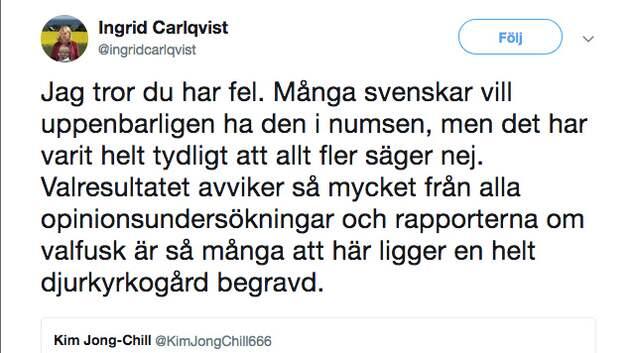 Hogerextremister Klagar Pa Valfusk Medveten Strategi