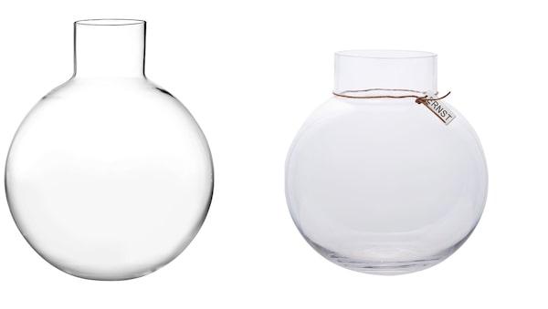 Vänster: Pallo, Skruf. Höger: Ernst Glasvas Klar.
