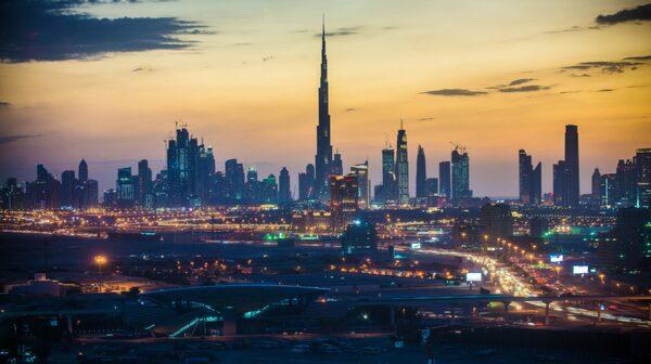 Dubai har många spektakulära byggnadsverk.