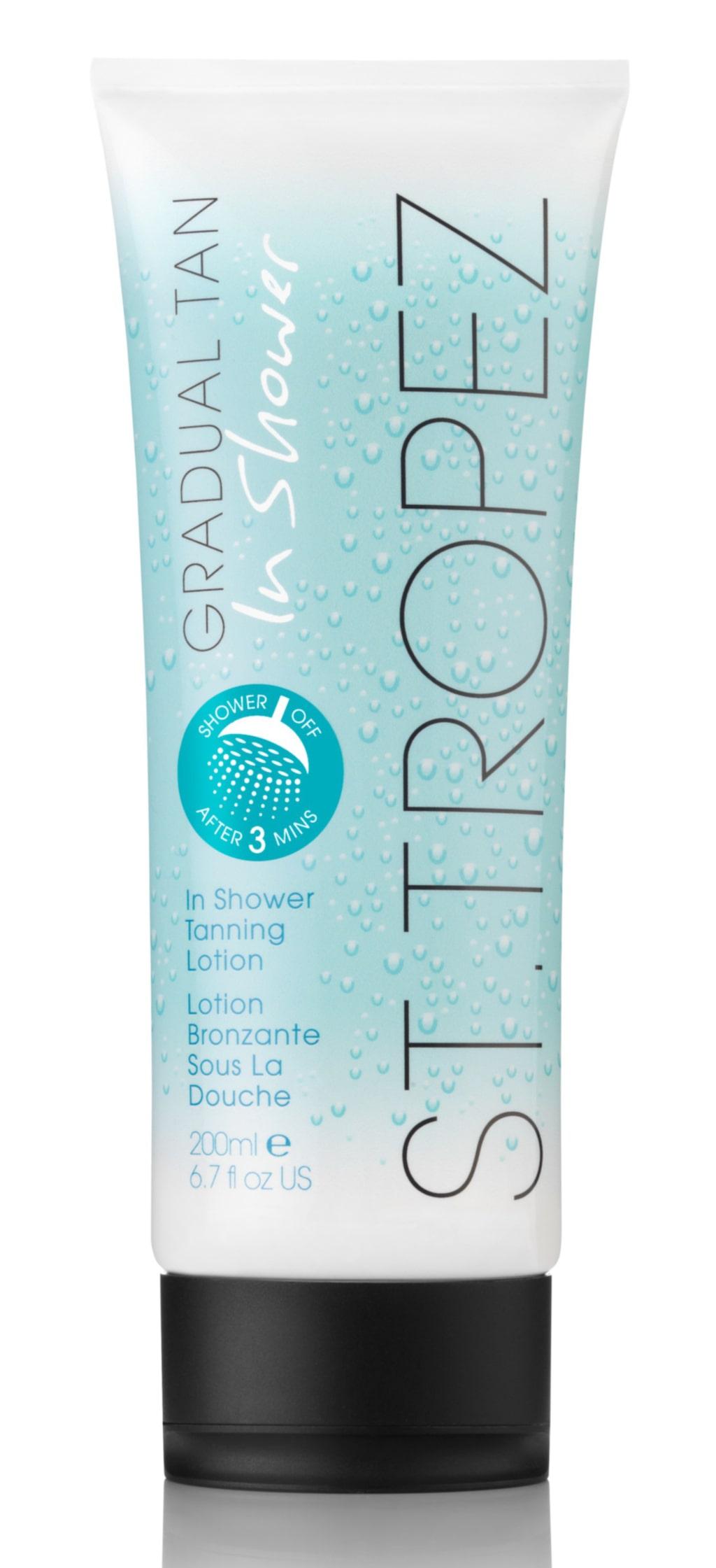<p><strong>Bonustips – bättrar på brännan! Gradual tan in shower lotion glow, light eller medium, 269 kronor/200 ml, St Tropez, Kicks.s. <br></strong></p> <p>Duschtvål med self-tan ingredienser som gör att du kan underhålla och förstärka solbrännan i duschen.<strong><br> </strong></p>