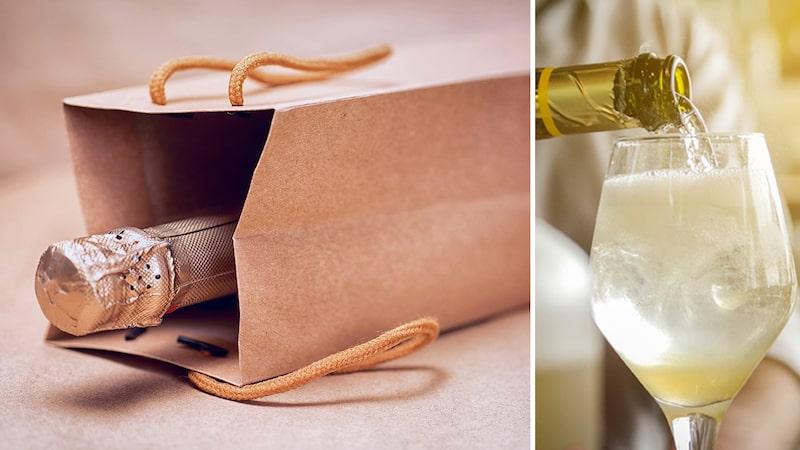 En flaska champagne är en klassisk gå bort-present att ta med sig till sommarfesten.