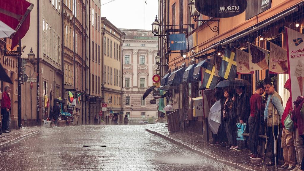 Gamla stan i Stockholm är populärt bland turister.