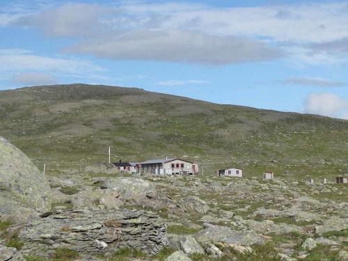 Gåsenstugorna i Vålådalens naturreservat.