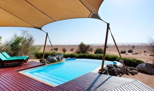 Vill du uppleva ökenlyx är Al Maha hotellet för dig.