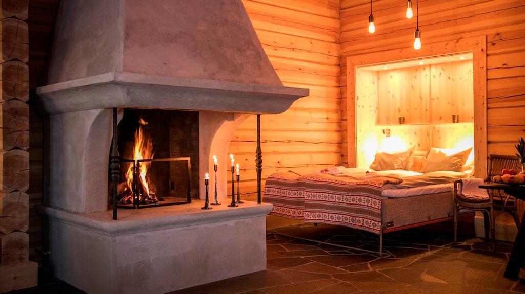 Koppla av. Charmig genuin känsla på Storhogna Högfjällshotell och Spa i Jämtland.