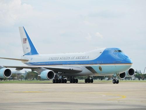 Air Force One – den amerikanske presidentens plan.