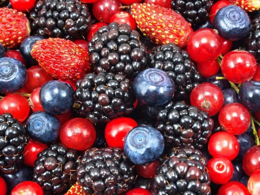 Frukter och bär - mindre om du är diabetiker.