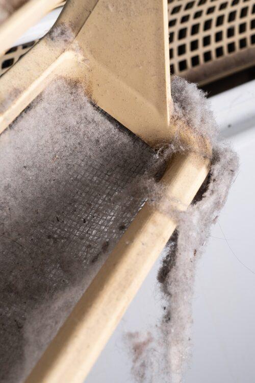 Kvarglömt ludd i torktumlaren kan leda till allvarliga bränder.