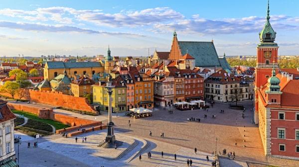I Warszawa erbjuds mängder med gratisturer.
