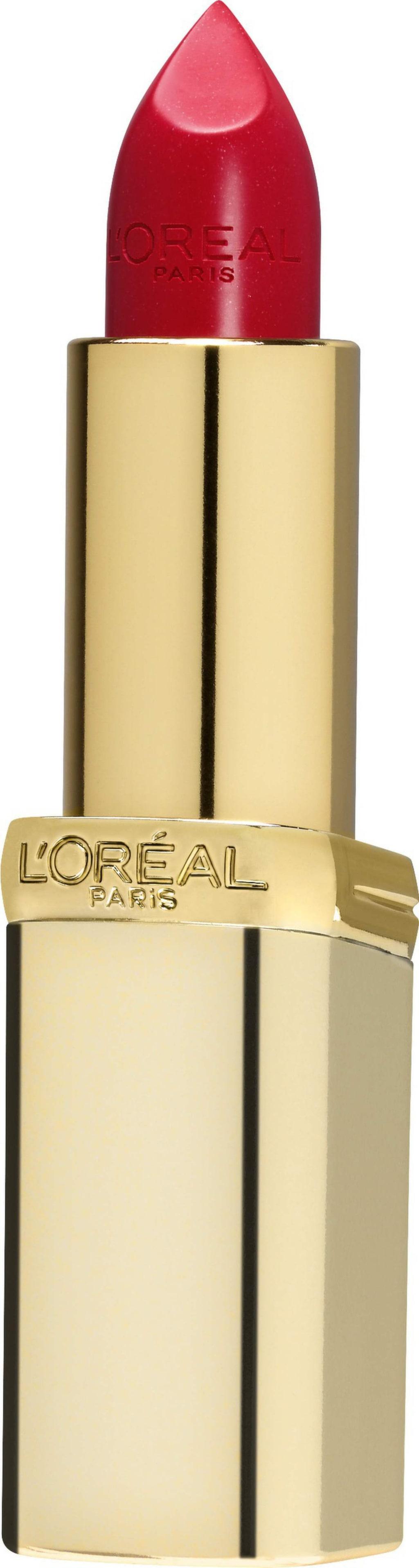 """<p>Läppstift """"Color riche"""" i färgen Red passion från L'Oréal Paris, 129 kronor.</p>"""