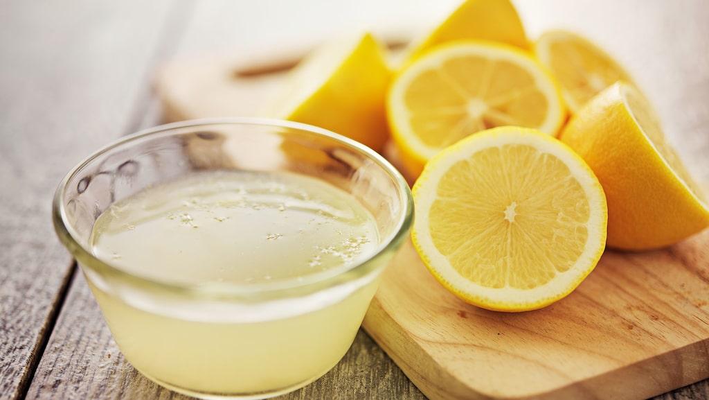 Citron är ett exempel.