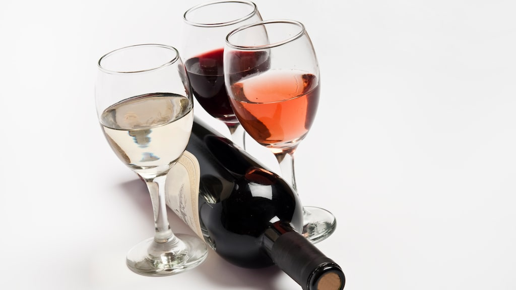 Rött, vitt eller rosé? Kolla i listan vilket som är hälsosammast.