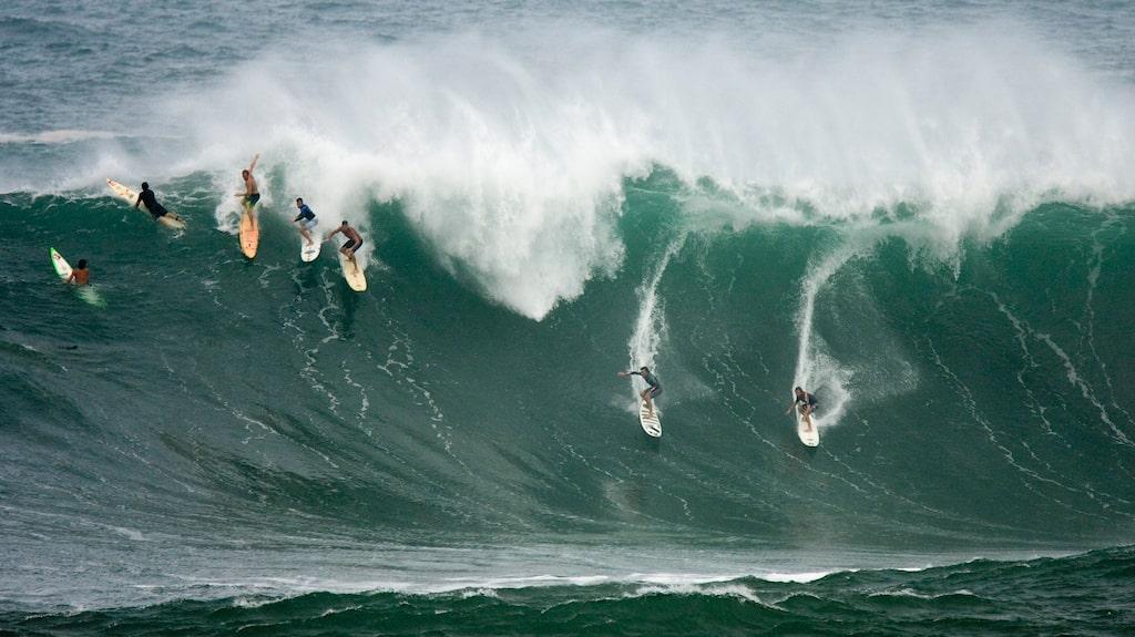 Hawaii är ett surfparadis.