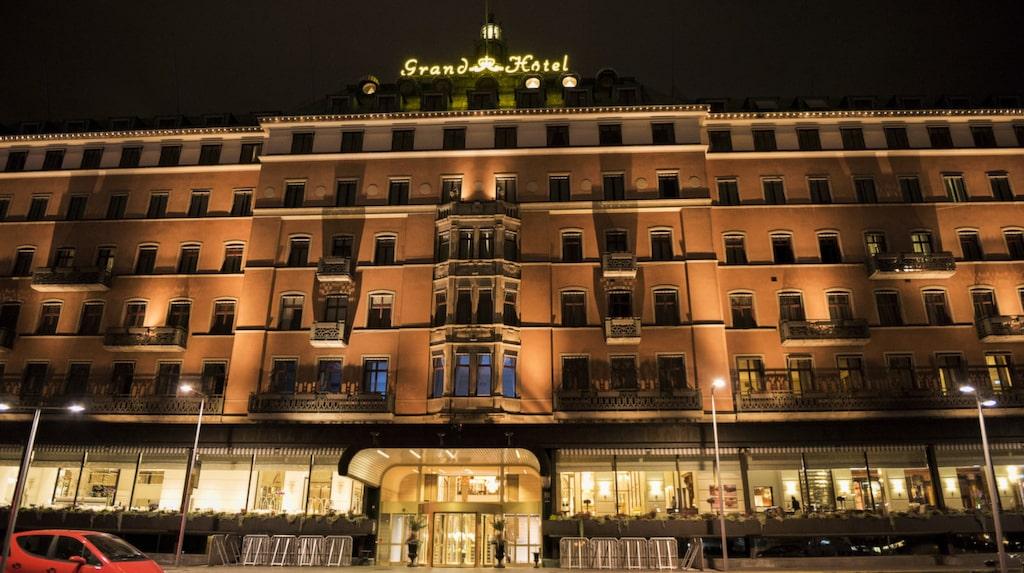 Grand Hotel i Stockholm.
