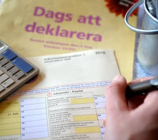 deklarera husförsäljning utan kvitton