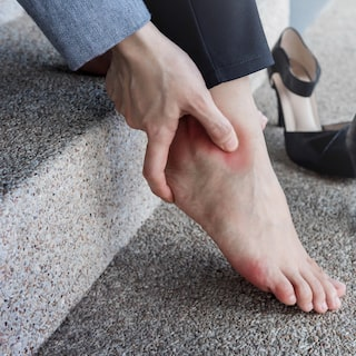 Inlägg i skorna kan minska antalet skador