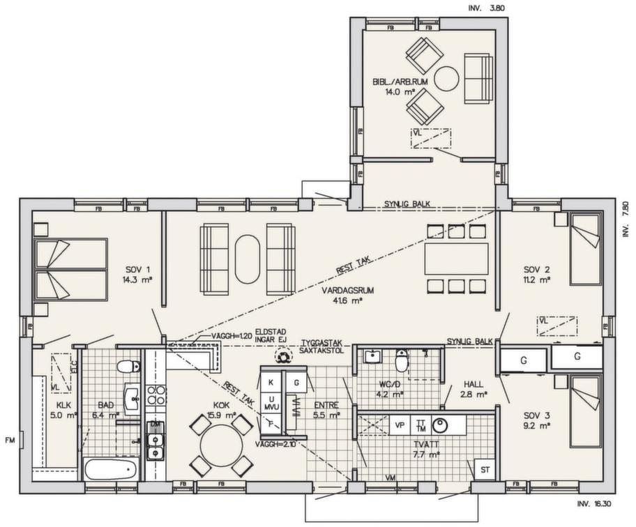 Fakta<br>Namn: Österås<br>Typ:  1-planshus med fem rum och kök på 147 vm<br>Pris: 2 470 000 kronor med träpanel. 16 802 kronor kvadratmetern<br>Husföretag: Götenehus gotenehus.se