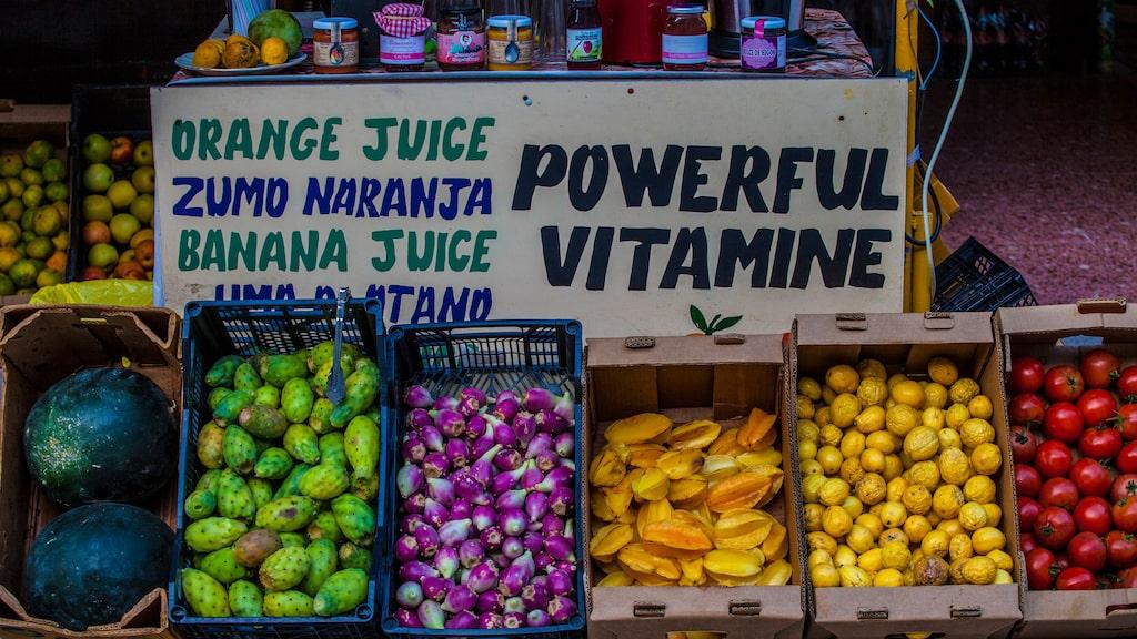 Färskpressad fruktjuice – en prisvärd kanarisk lyx.