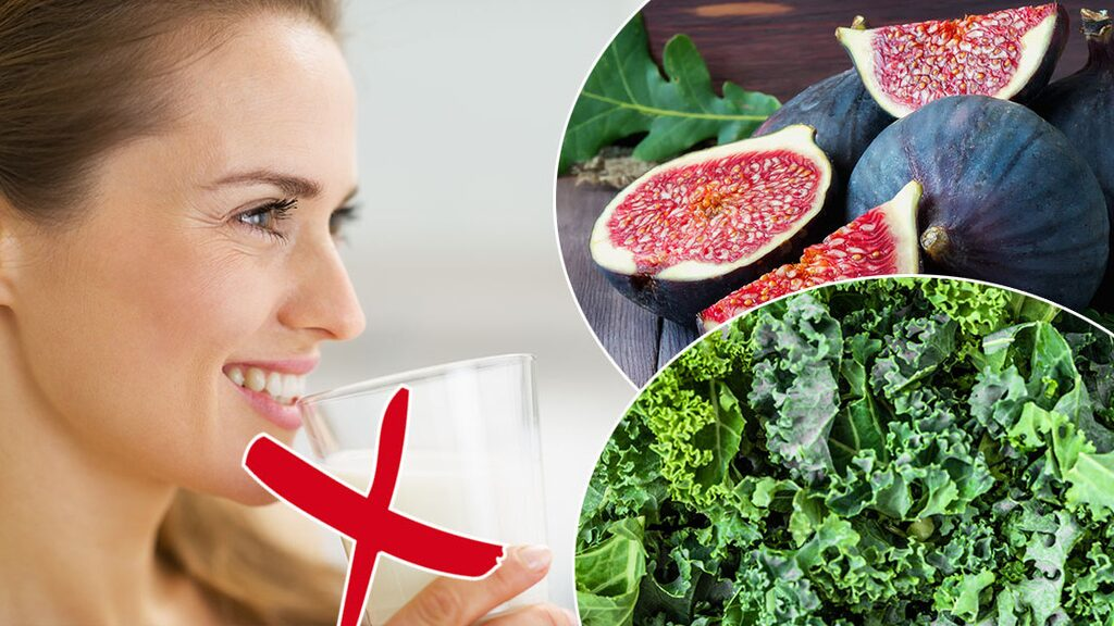 Det finns många goda livsmedel som innehåller kalcium.