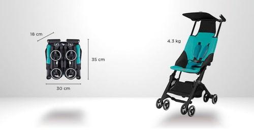 Så här ser barnvagnen ut.