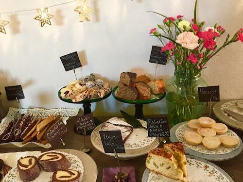 Missa inte kafé Monika Ahlberg på Thielska Galleriet när du tar en söndagspromenad på Djurgården.
