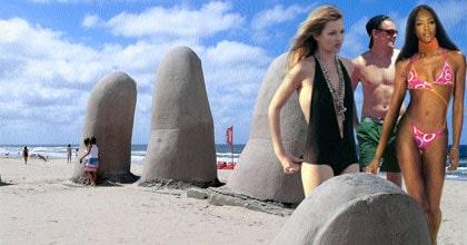 """Kate Moss, Leonardo DiCaprio Naomi Campbell är några av de som semestrat i """"Punta"""". Det har även  John F Kennedy, Che Guevara, Julio Iglesias, Sting, prins Albert av Monaco, Shakira, och Ralph Laurent."""