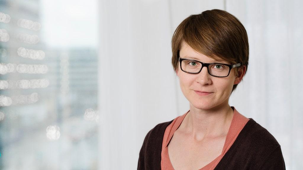Annasara Carnahan, epidemiolog på Folkhälsomyndigheten, om säsongsinfluensan.