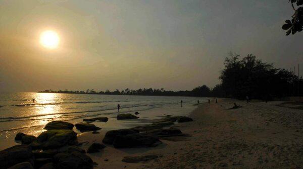 Den finaste stranden i Sihanoukville är Otres Beach
