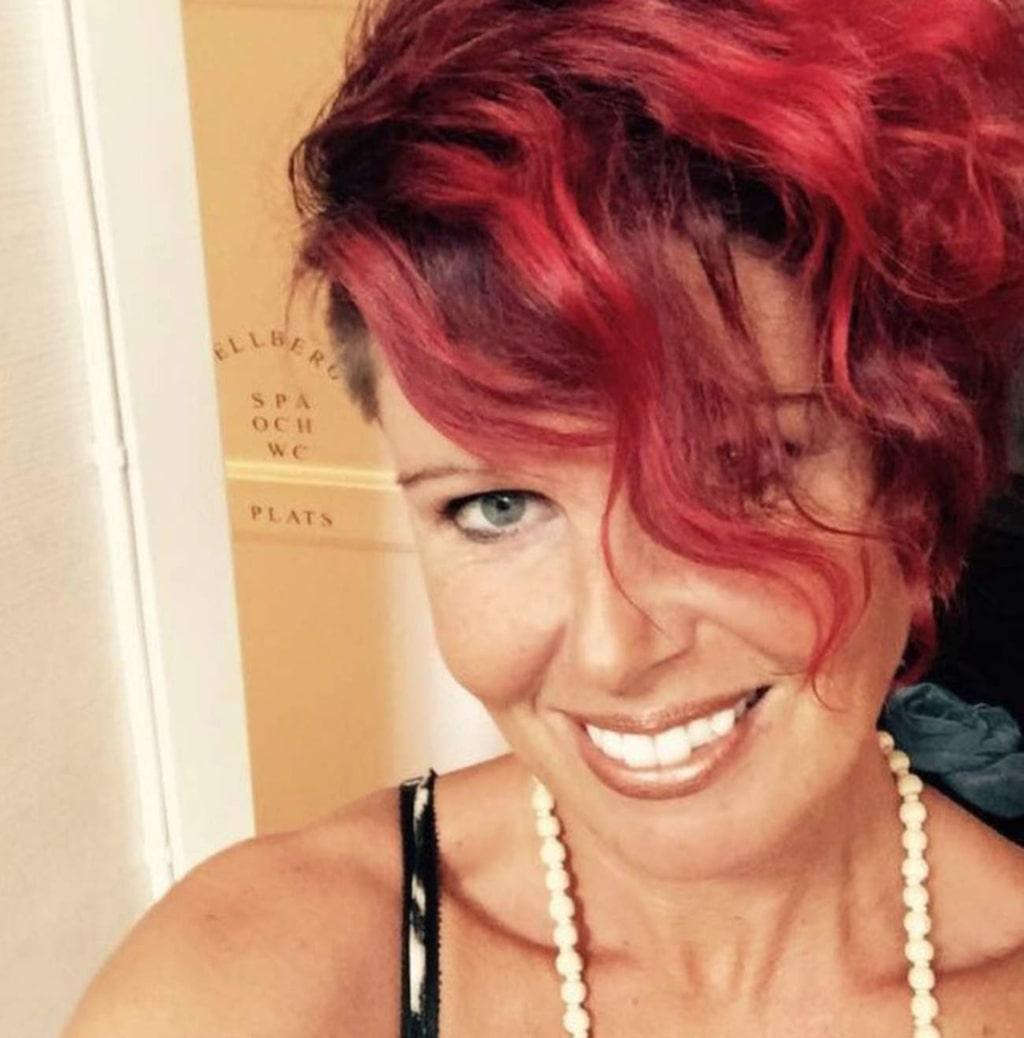 Sara Mellberg, 43, från Gävle, hittade på tricket och skrämde slag på sin familj.