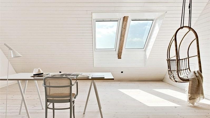 Vem vill inte sitta här och jobba?