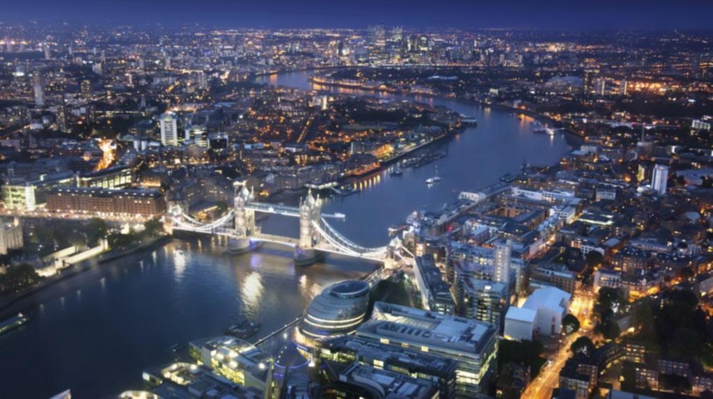 London må vara störst till ytan...