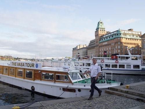 Res i Vasas kölvatten med M/S Sylvia.