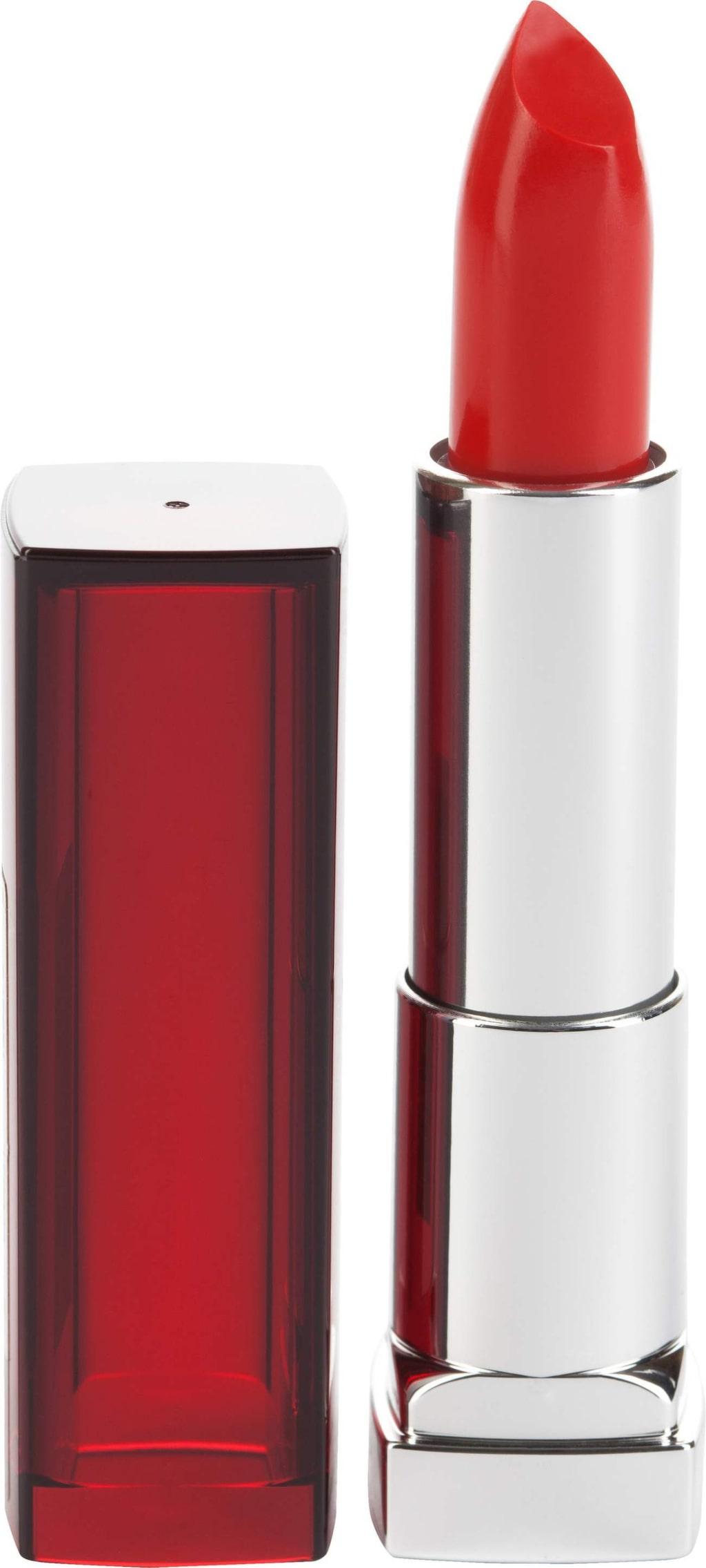 """<p>Läppstift """"Color sensational"""" i färgen Red revolution från Maybelline, 119 kronor.</p>"""