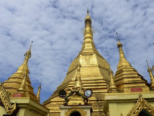 Schwezigon Pagoda.