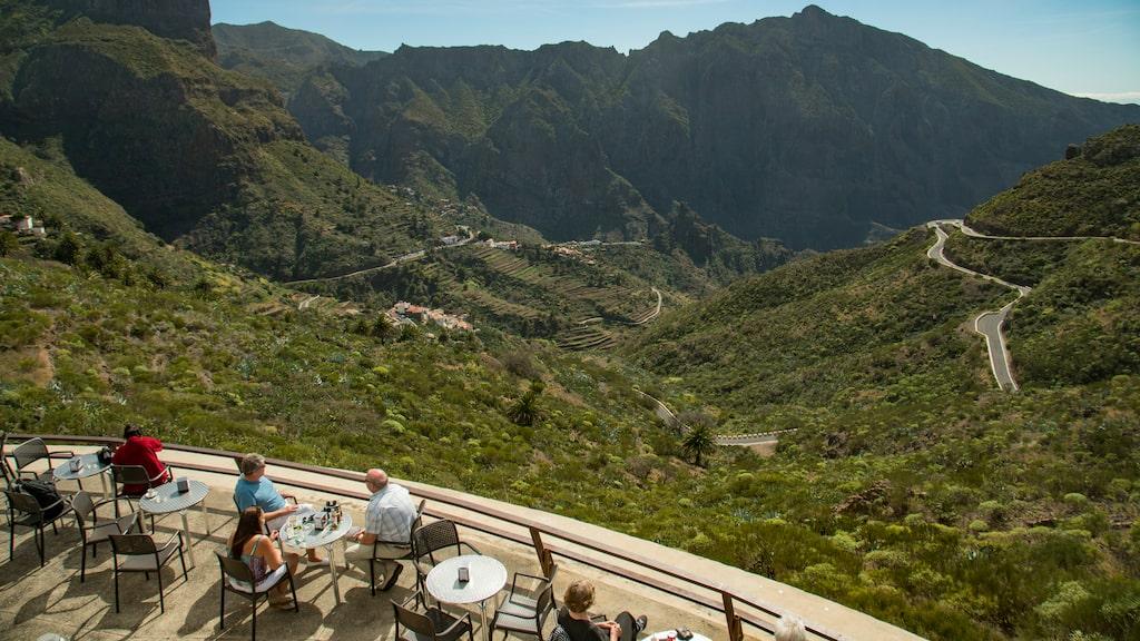 Med sitt läge är byn Masca väl värld ett besök trots att det kan bli turistätt.