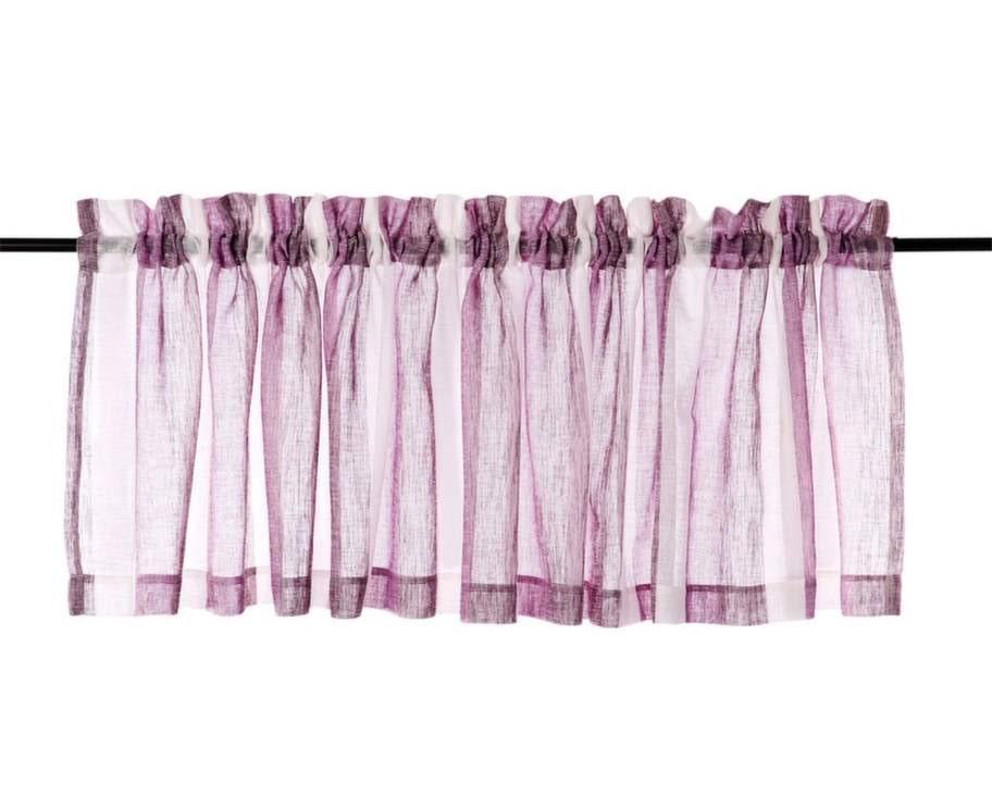 Romantisk. Stilig gardinkappa i polyester som påminner om thaisiden, 50 × 250 centimeter, 129 kronor, Hemtex.