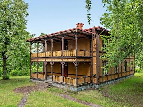 Den gamla kaptensbostaden i Romme byggdes 1894.