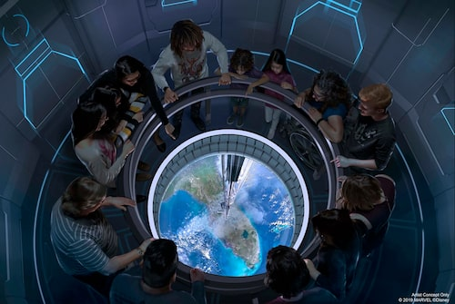 "Ordet ""stjärnkrog"" får en ny betydelse på Space 220."