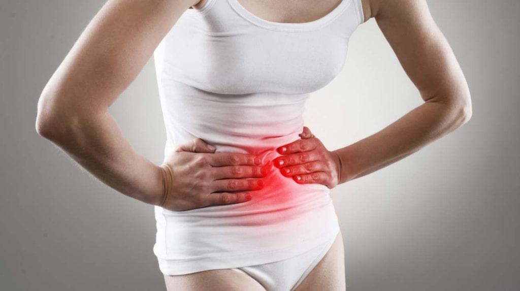"""<p>""""Besvär från övre delen av magen kan ibland lindras genom tillskott av matsmältningsenzymer och saltsyra.""""</p>"""