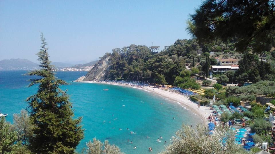 Samos en av Greklands största öar.
