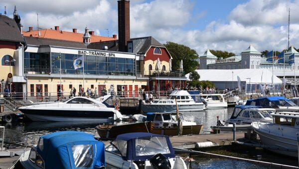 Modernt spa har ersatt de kurerande gyttjebaden i Strömstad.