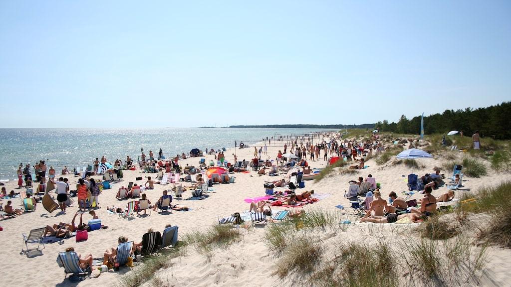 Böda Sand på Öland kom på andra plats.