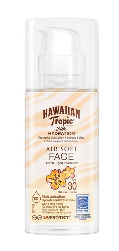 Silk Hydration Air Soft Face, Hawaiian Tropic.