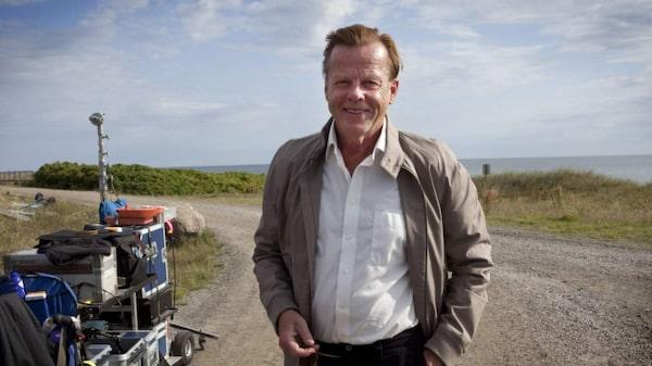 Krister Henriksson som Kurt Wallander i Ystad.