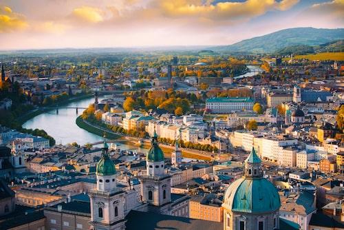 Musikstaden Salzburg håller stor 100-årsfest.