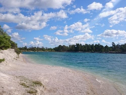 Blå Lagunen.