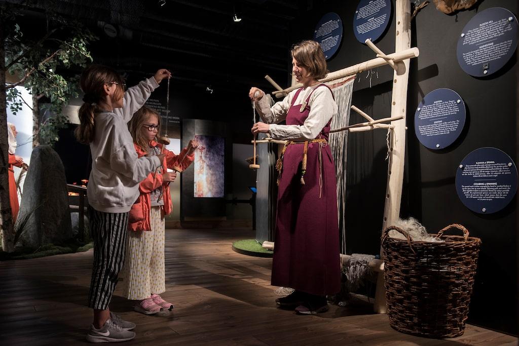 Vikingatidens hantverkskonster var livsviktiga.