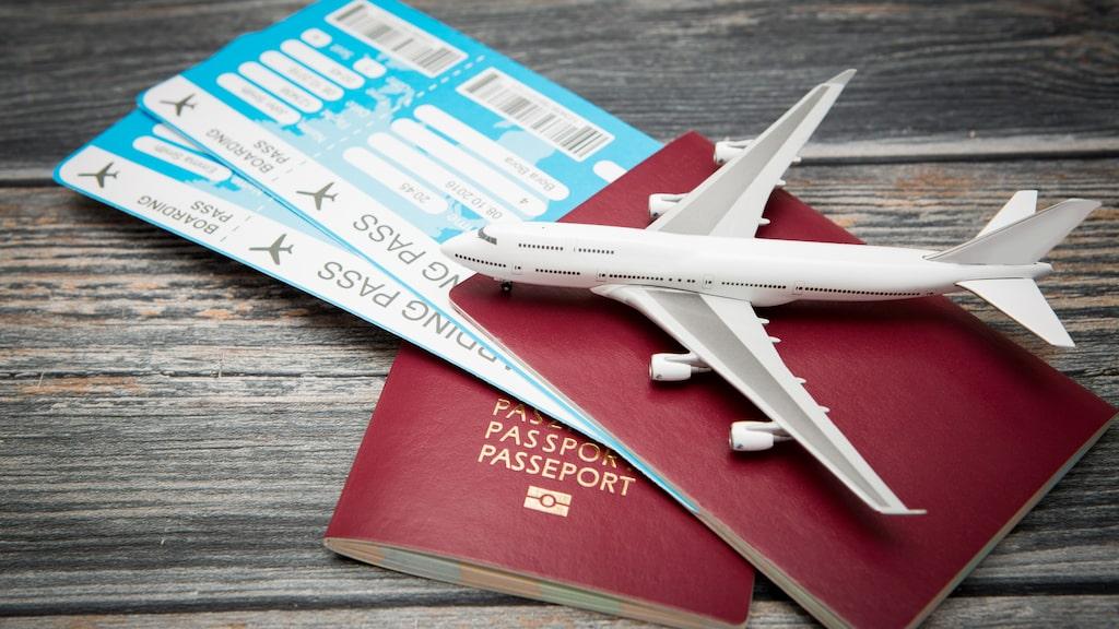 Passkontrollörer ogiltigförklarar pass som kommit till skada.