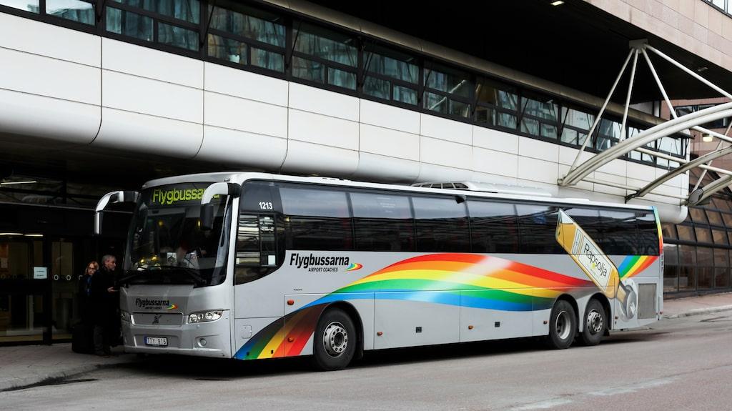 Medan flygbussarna ofta är smidigare för resenärer som ska till söder.