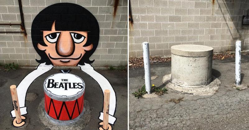 På någon av New Yorks gator kan man stöta på Beatles-trummisen Ringo Starr.